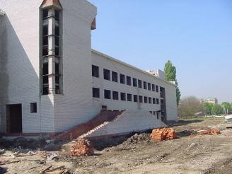 Пристройка к учебно-лабораторному корпусу Кубанского Технологического Университета