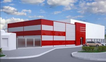 Конструкции для строительства супермаркетов; офисов; складов; многоярусных гаражей