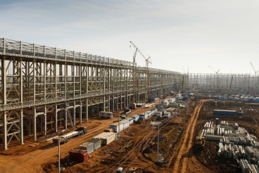 Конструкции для строительства заводов