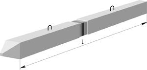 Сваи составные сечением 350x350 мм